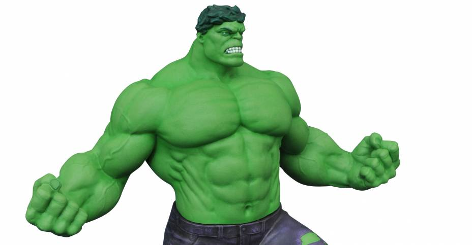 New From Dst Hulk Statue Nbx Vinimates Star Trek