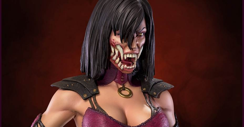 Update On Mortal Kombat Mileena Statue The Toyark News