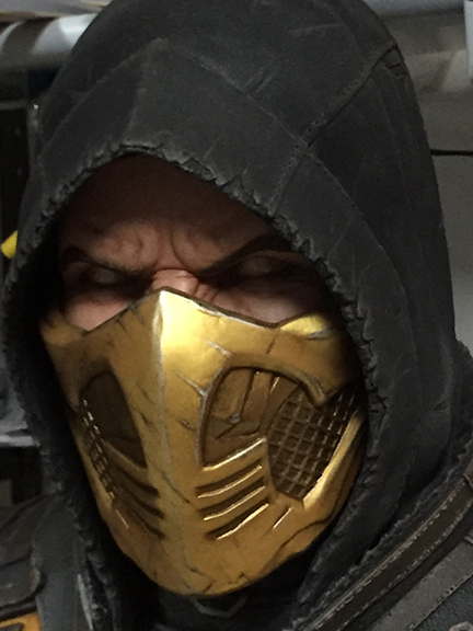 Fully Painted Teaser For Mortal Kombat X Scorpion Life