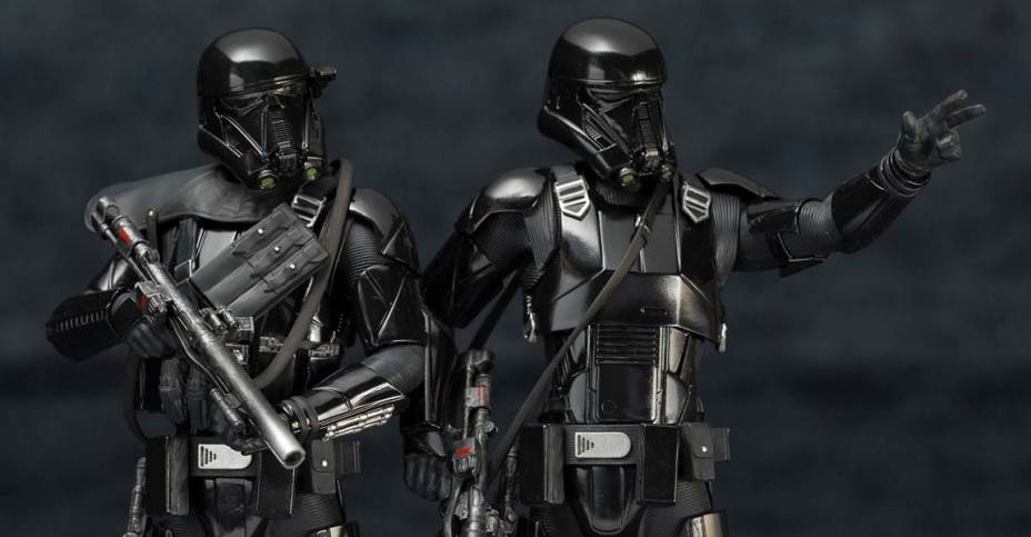 Rogue One Death Trooper Artfx Statue 2 Pack The Toyark News
