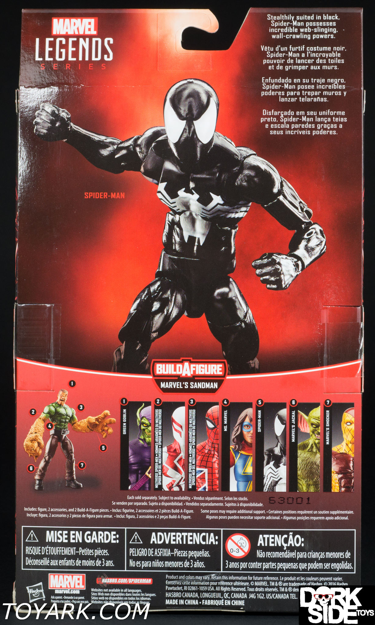 Marvel Legends The Amazing Spider Man Symbiote Photo Shoot The