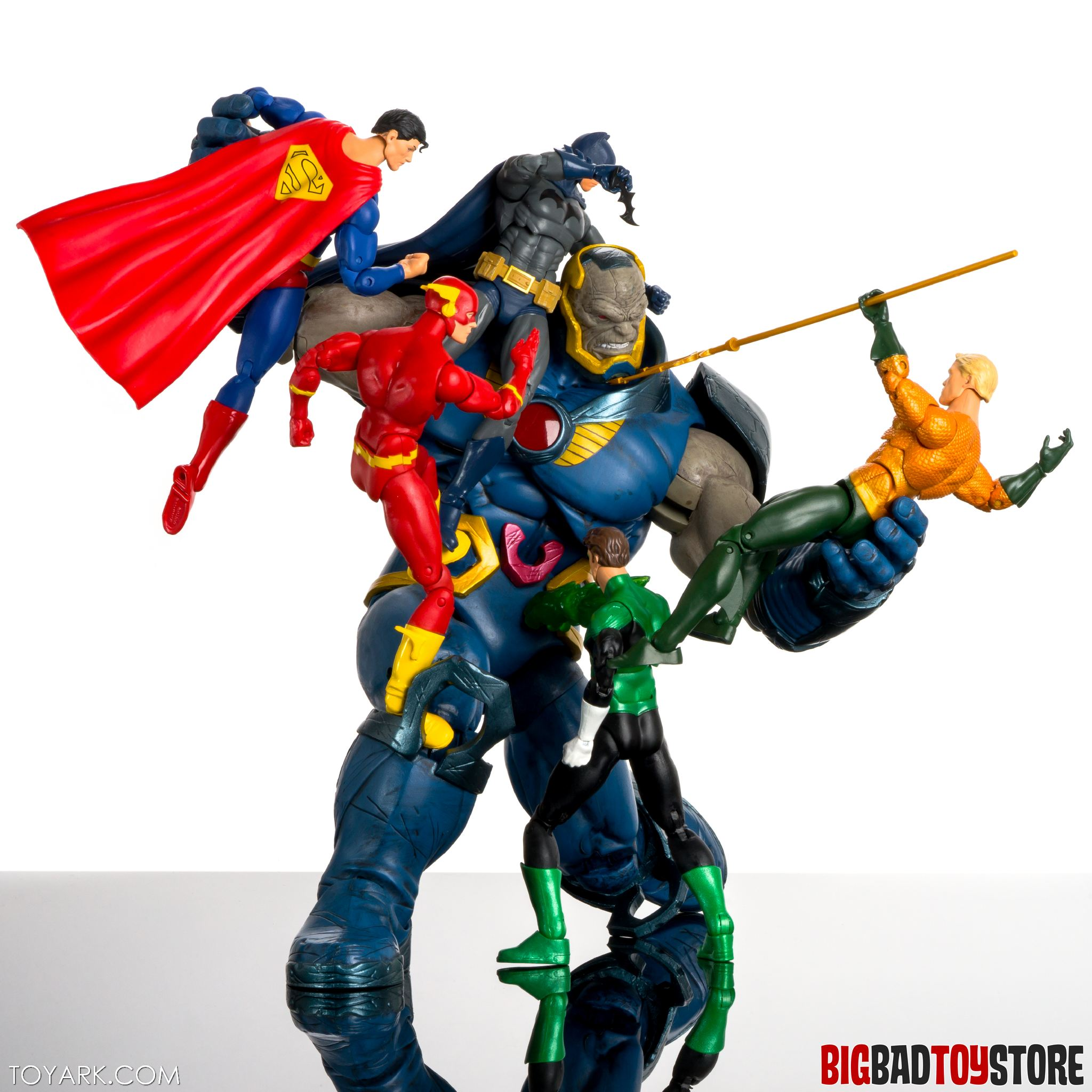 DC Icons Darkseid and Grail 2 Pack Photo Review - The ...