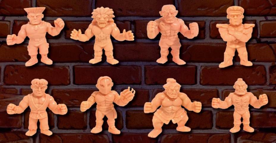 2017, Toy NUOVO Street Fighter Ii Muscle 3-Pack Pack A