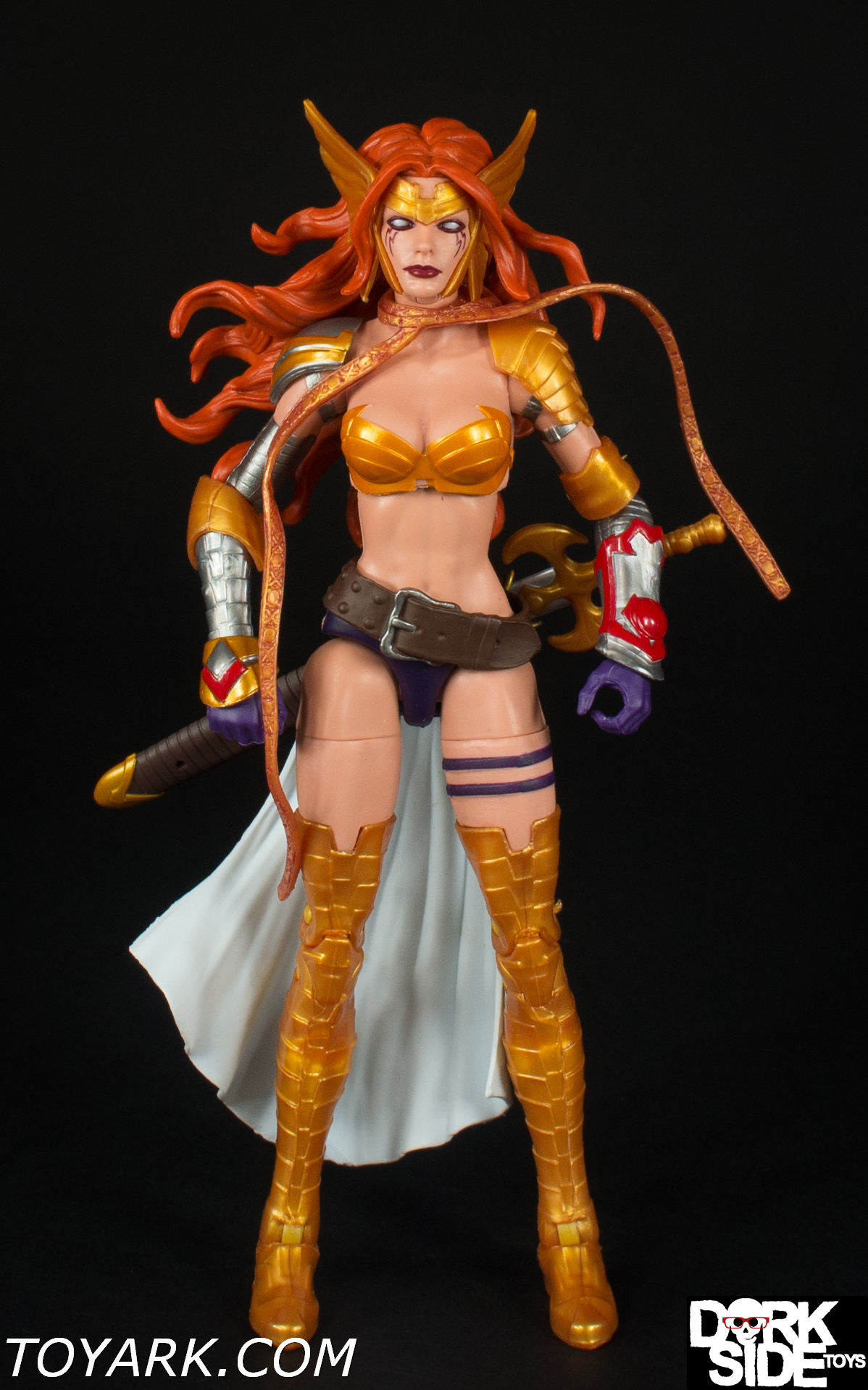 Marvel Legends ~ ANGELA ACTION FIGURE ~ Guardians of the Galaxy Vol 2 Series 1