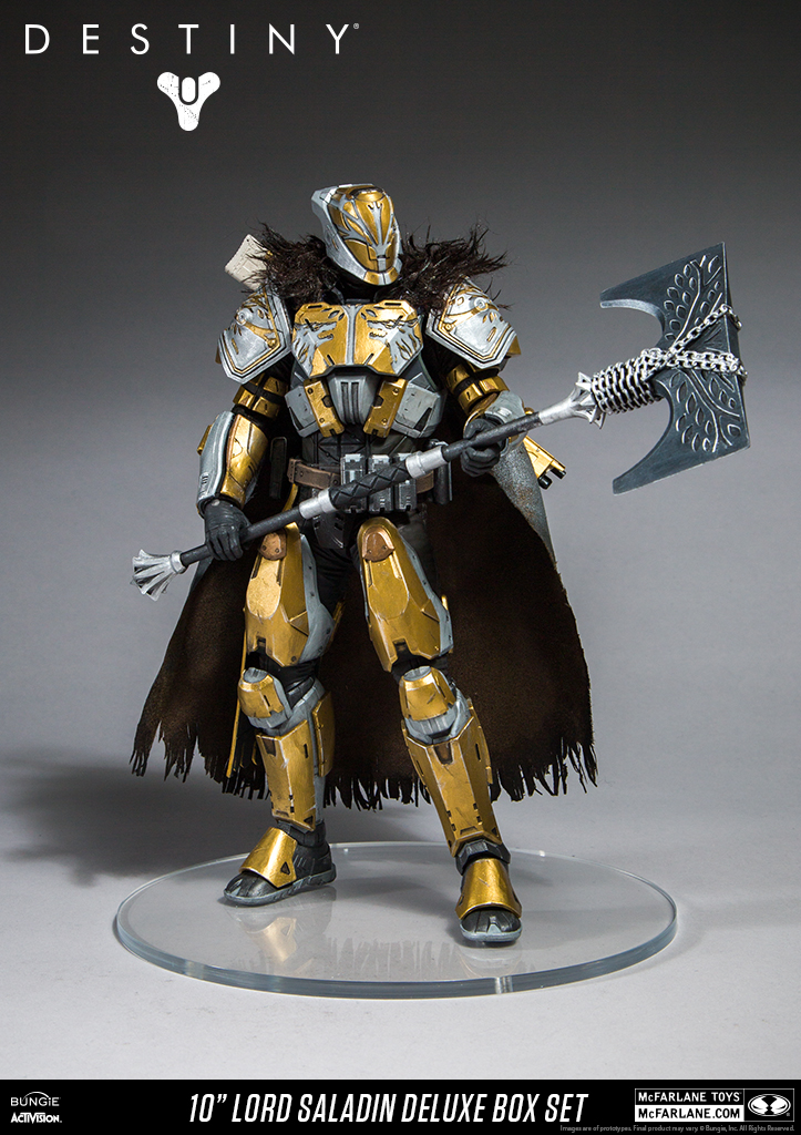 Destiny Figure Updates From Mcfarlane Lord Saladin And