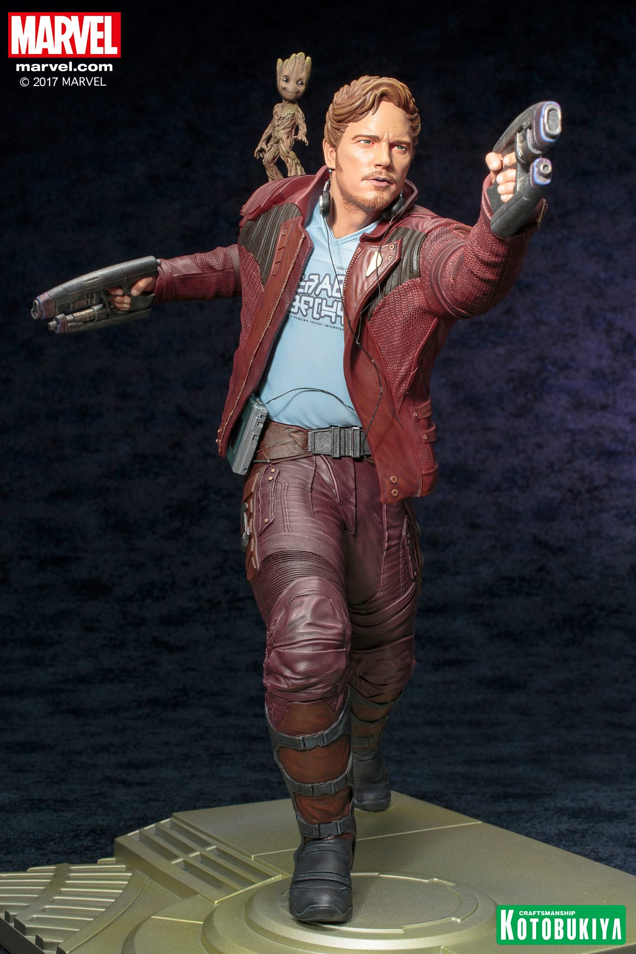 C0311 Guardians Of The Galaxy Figur Star-Lord 12-inch 30cm Titan-Held-Serie