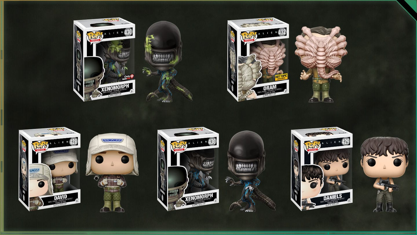 New Aliens Collectibles Revealed For Alien Day The