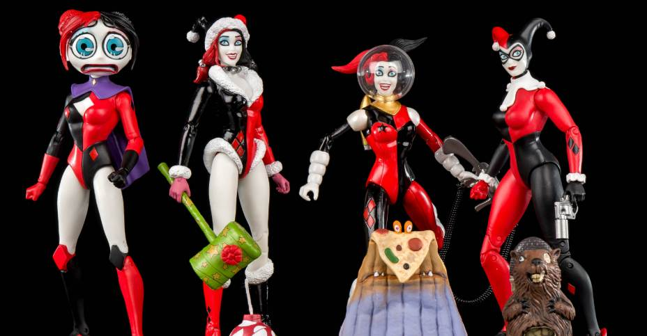 DC Comics Holiday Harley Quinn Designer Series Action Figure By Amanda Conner