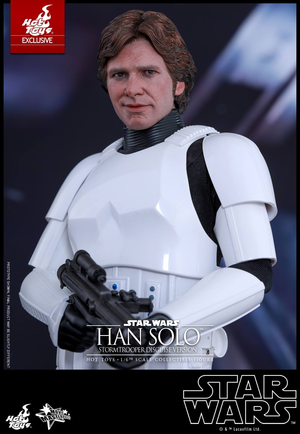 Star Wars Han Solo In Stormtrooper Disguise By Hot Toys