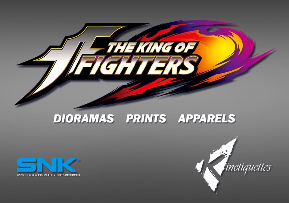 Kinetiquettes Announces King of Fighter Diorama Statues and