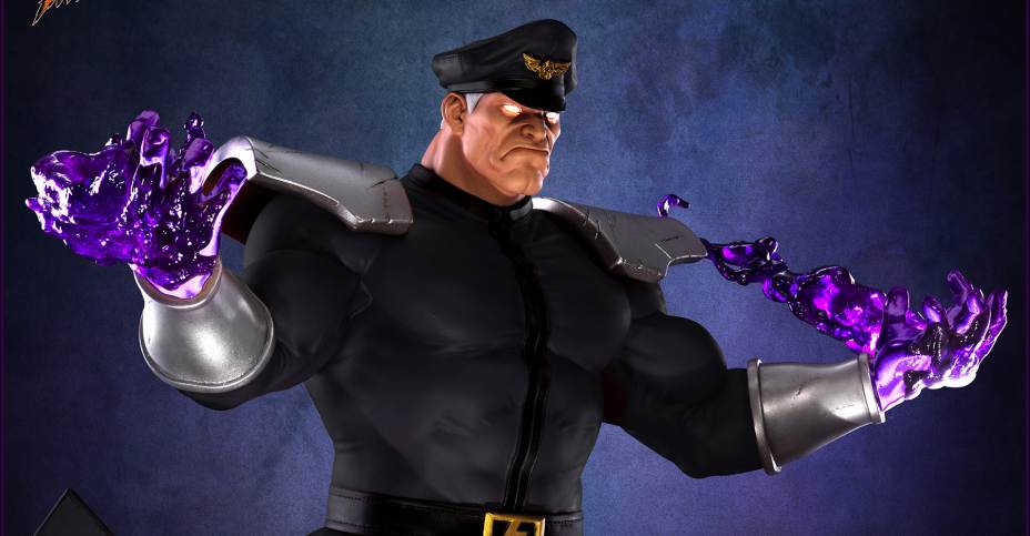 Full Gallery Of Street Fighter V M Bison Statues By Pop Culture