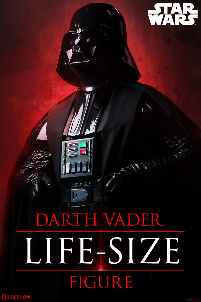 star wars life size darth vader images and details - the
