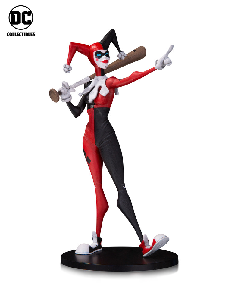 Dc Collectibles Reveals Artists Alley Pvc Statues The