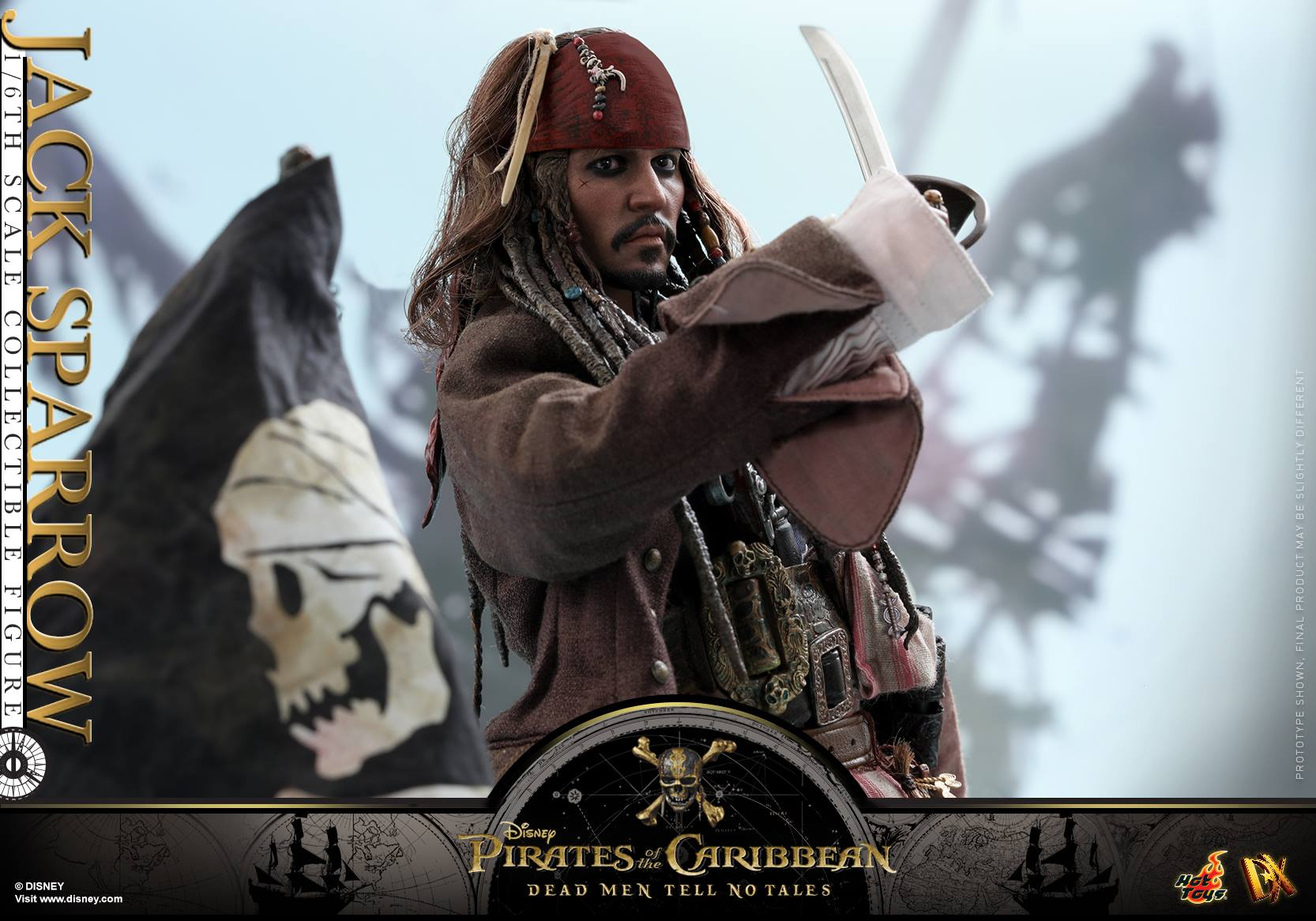 Pirates Of The Caribbean: Dead Men Tell No Tales - Jack Sparrow by