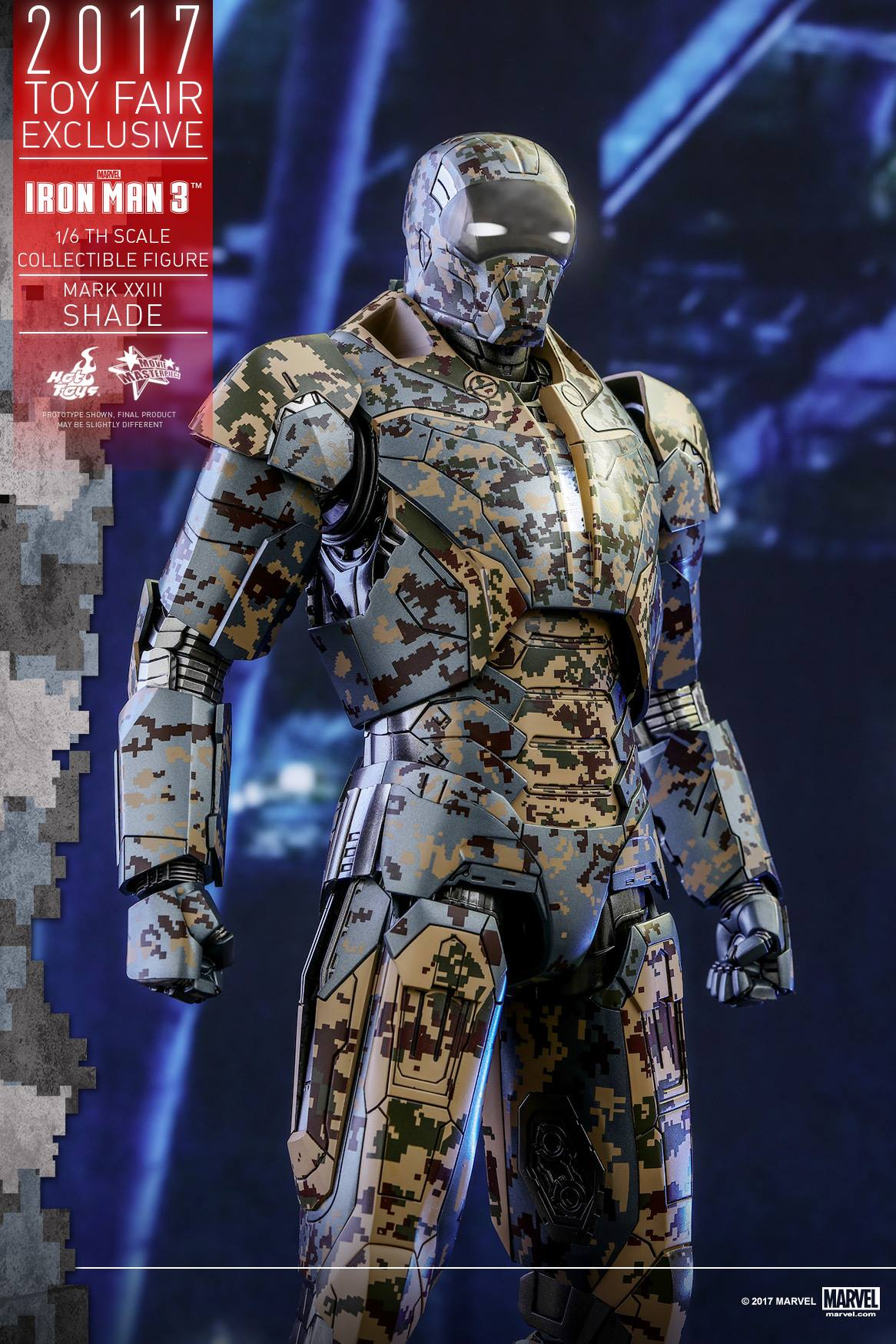 Iron Man 3 Toys ~ Exclusive iron man shades armor figure by hot toys the