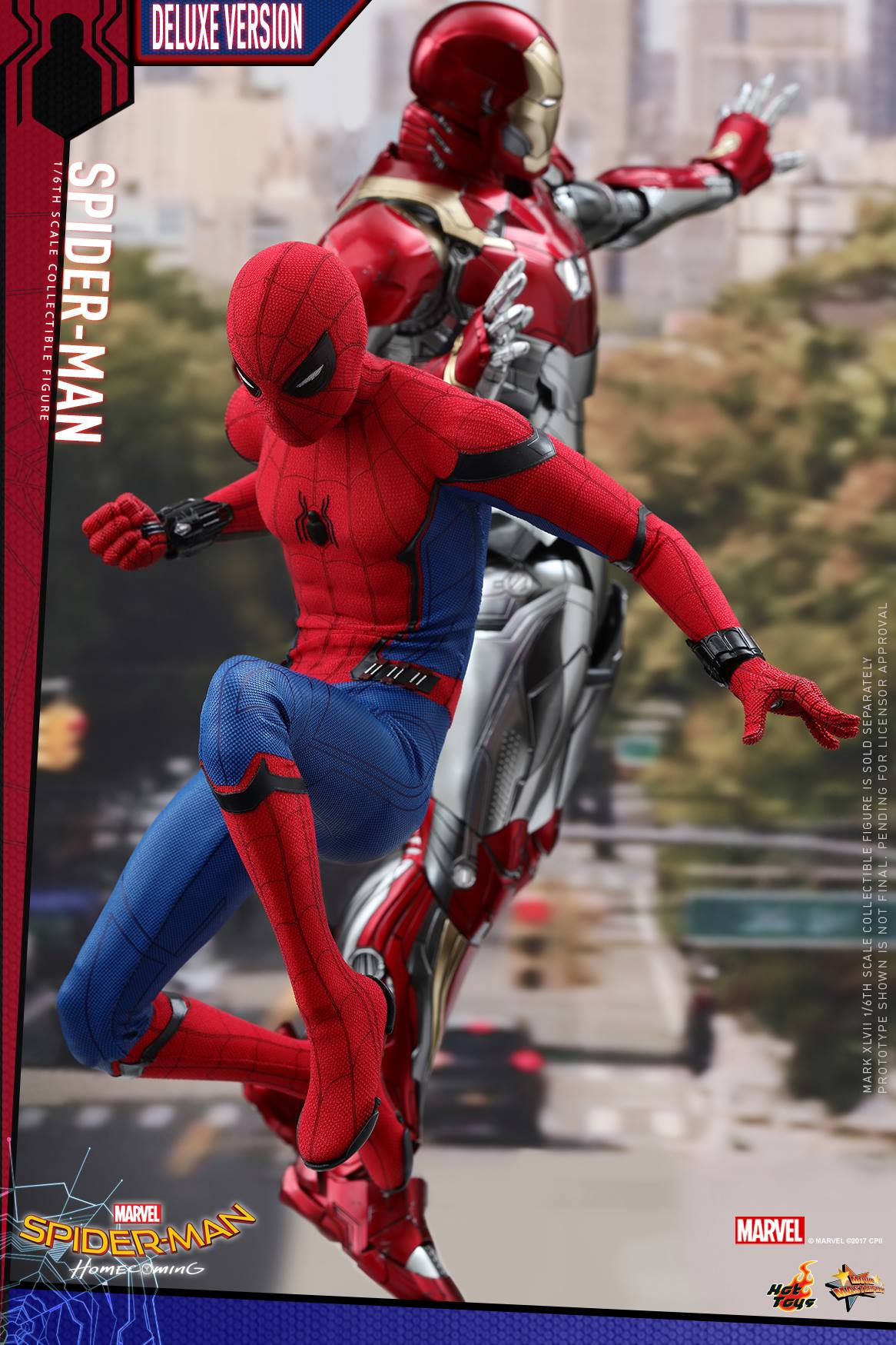 Spider Man Homecoming 1 6 Scale Figure By Hot Toys The Toyark News