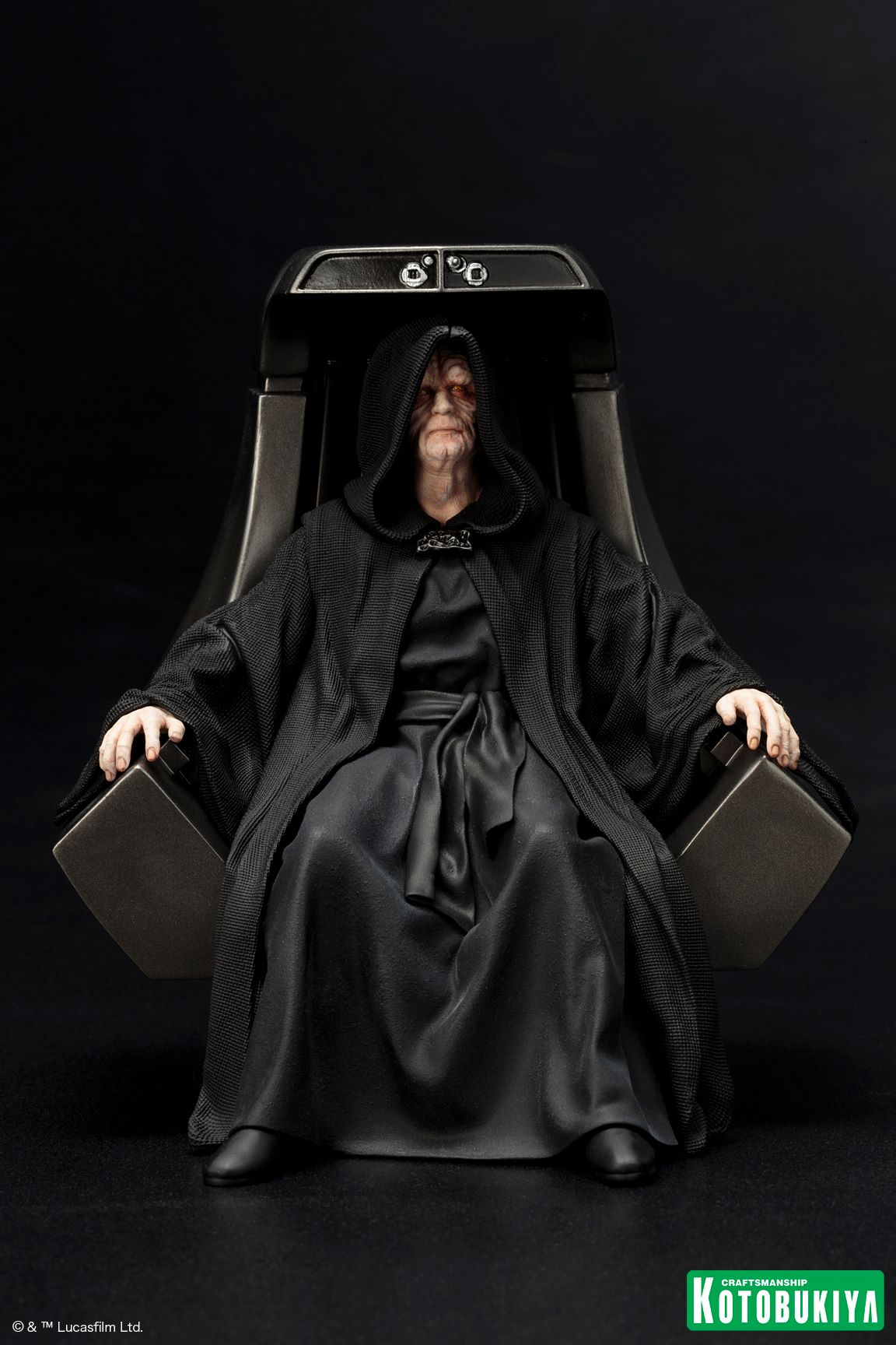 Official Photos and Info for Star Wars Emperor Palpatine ...