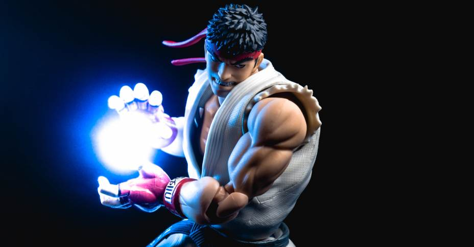 Ryu - S H  Figuarts Street Fighter Photo Review
