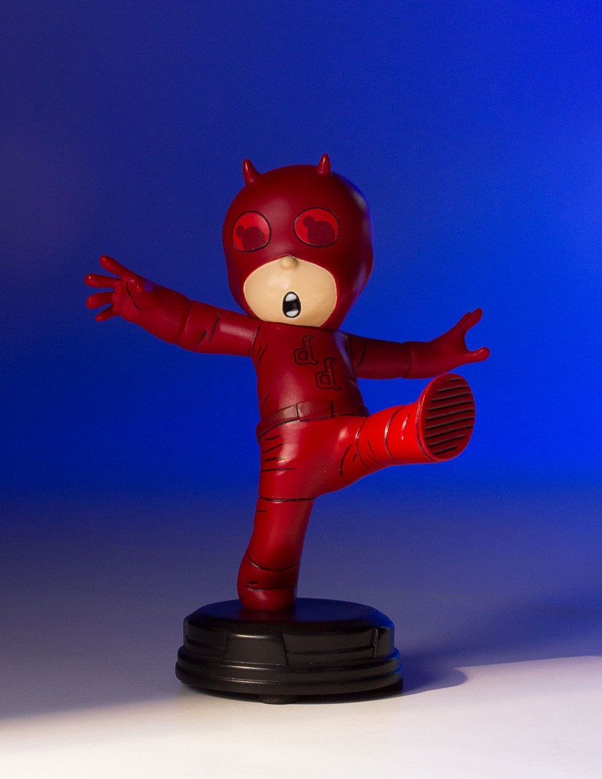 Marvel Animated Daredevil Statue By Gentle Giant The