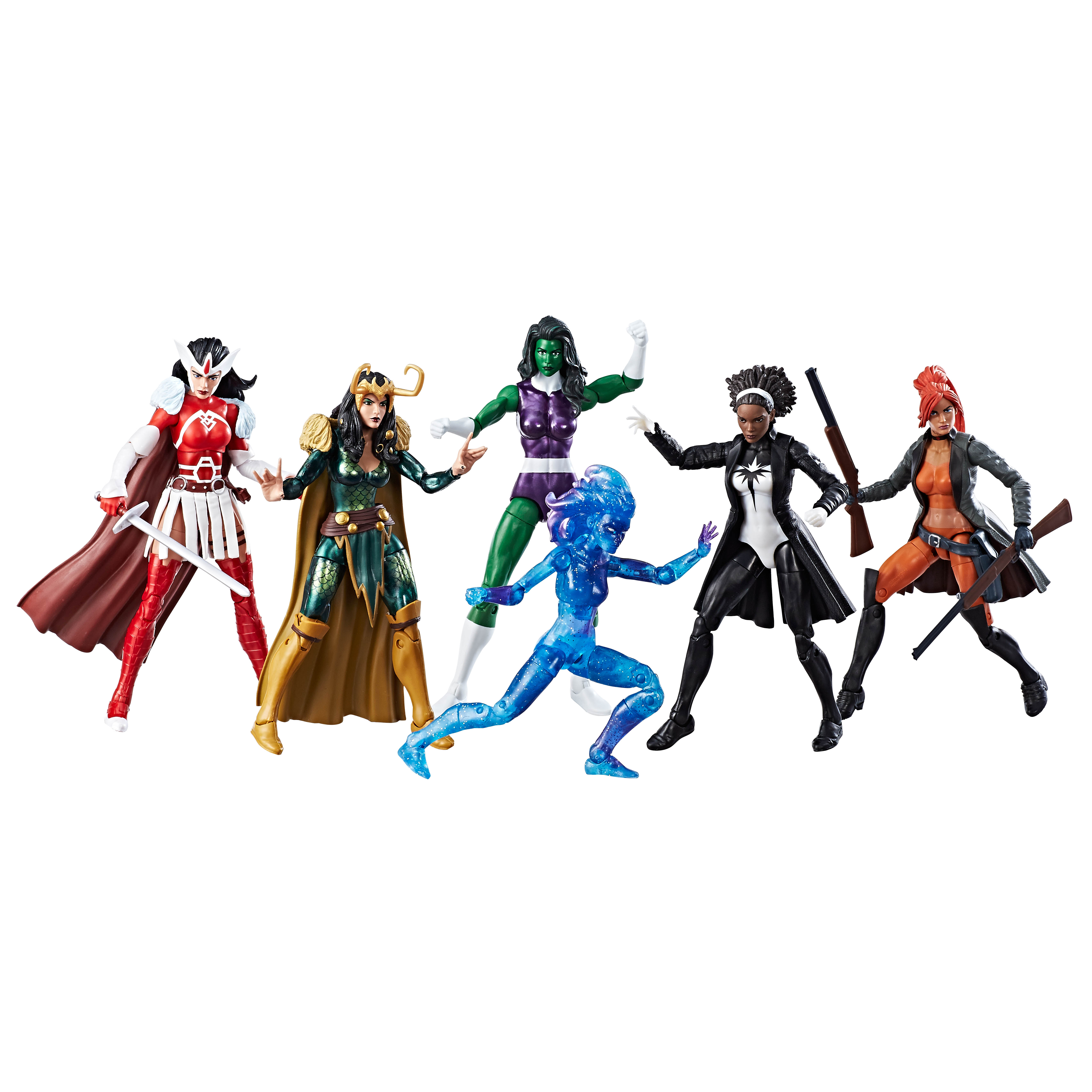 """Marvel Legends 6/"""" Inch A-Force 6-Pack Avengers Singularity Loose Complete"""