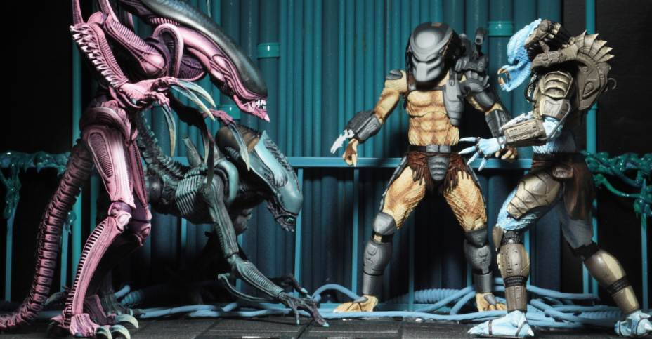 Alien vs Predator Chrysalis Alien Neca Arcade Action Figure