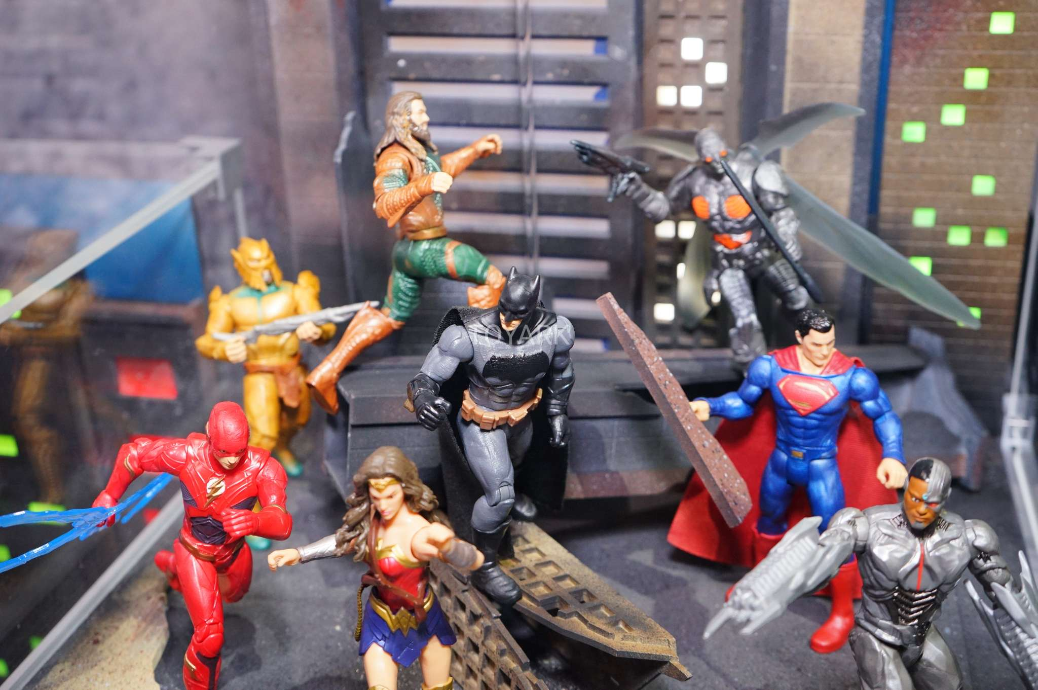 Sdcc 2017 Gallery Mattel Justice League Figures The