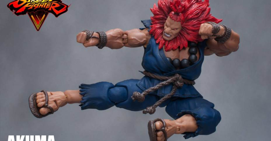 Street Fighter V Akuma Figure By Storm Collectibles The Toyark News