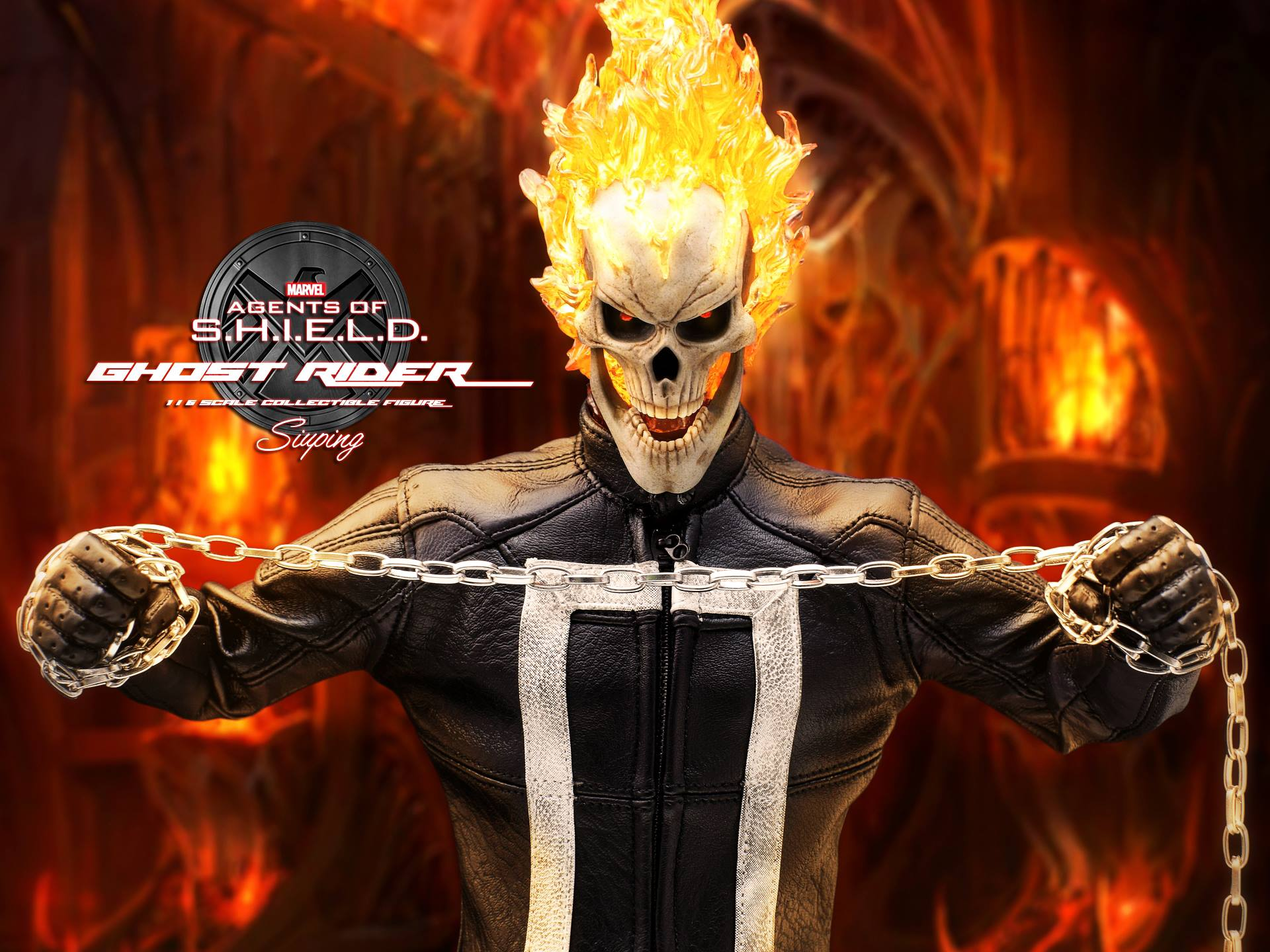 Hot Toys Agents Of S H I E L D Ghost Rider Final Promo Images