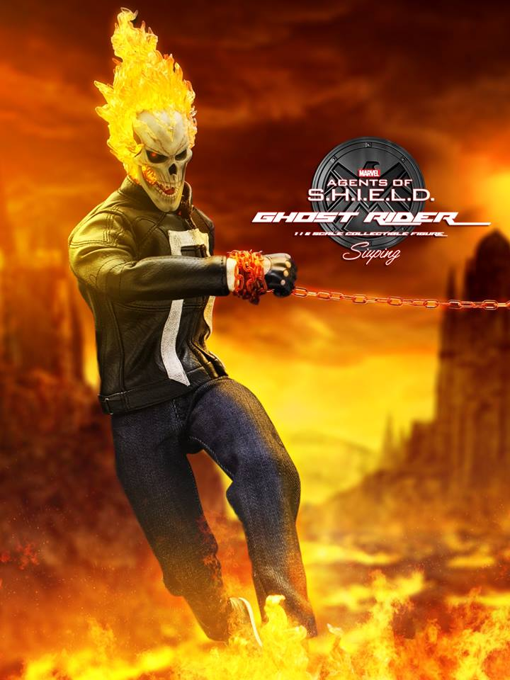 hot toys agents  shield ghost rider final promo images  toyark news