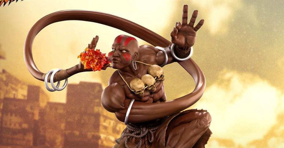 New Photos And Info Street Fighter V Dhalsim Statues By Pcs Toys The Toyark News