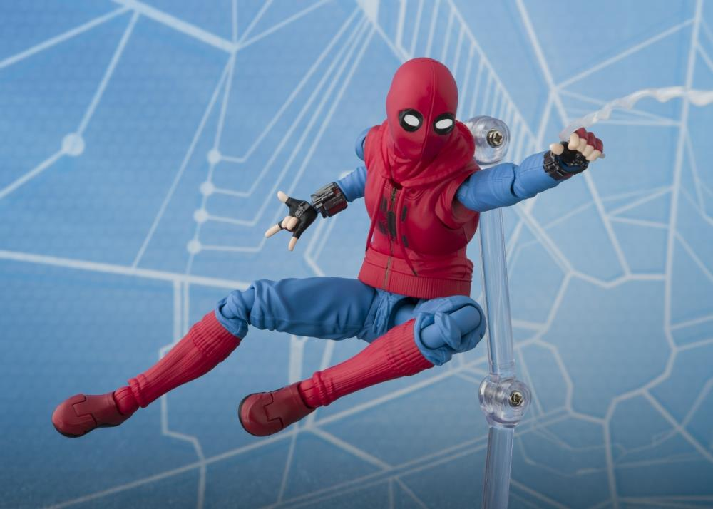 6/'/' S.H.Figuarts Spider-Man Homecoming Home Made Suit Marvel Figure Toy Boxed