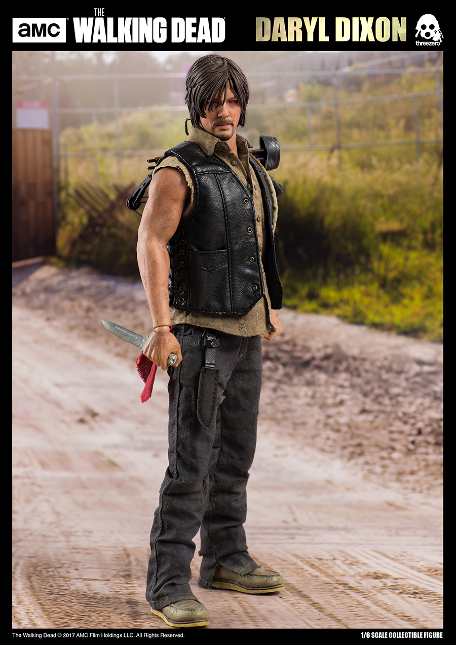 """2019 NEW The Walking Dead TV Daryl Dixon 7"""" Collectible Action Figure"""