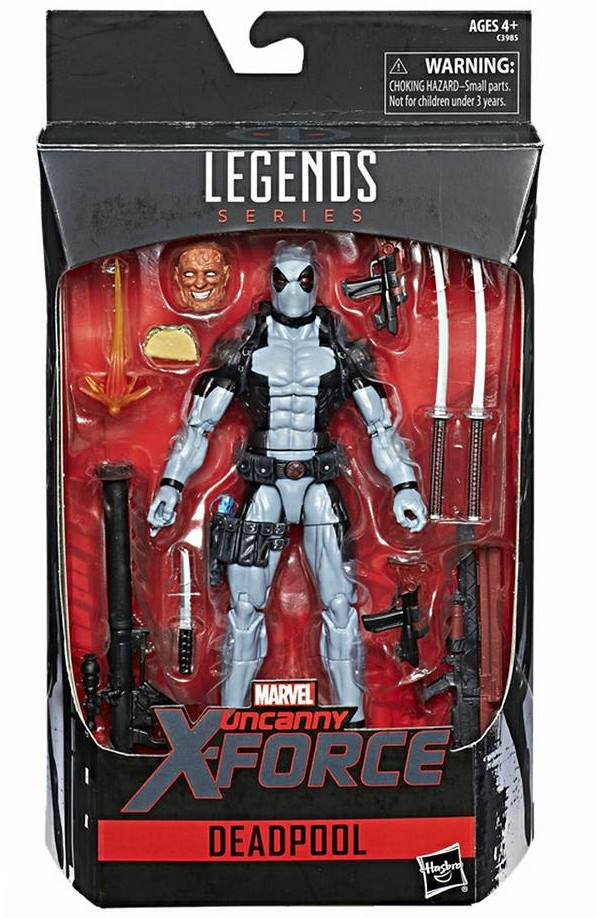 X Force Deadpool Marvel Legends Hasbro Hascon Exclusive