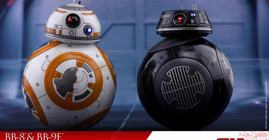 2017 Hasbro Star Wars BB-9E First Order Droid Loose /& Complete Figure LAST JEDI