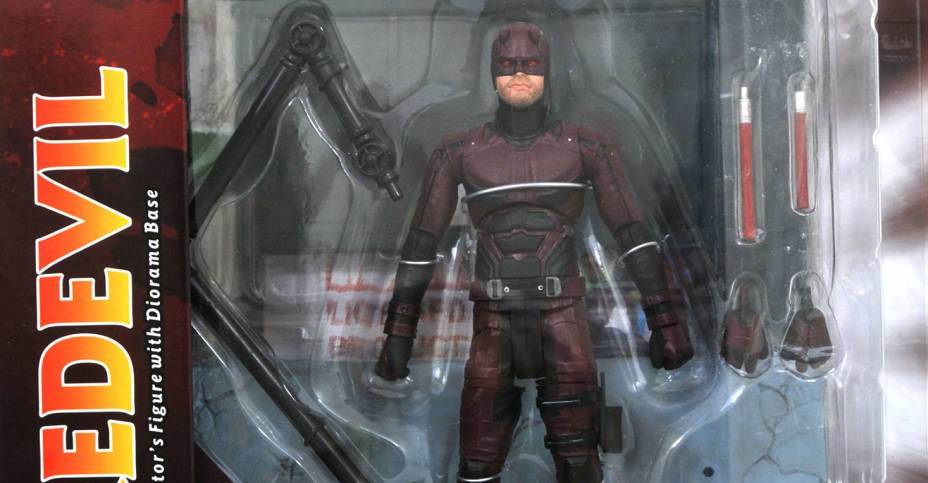 Marvel Select Netflix Daredevil Figure In Packaging The
