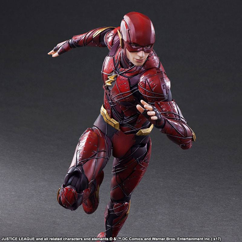 Play Arts Kai The Flash From Justice League The Toyark