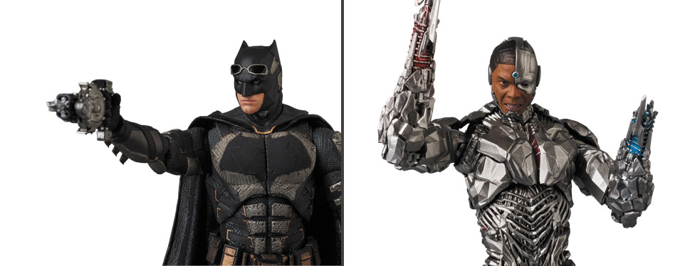 Medicom Toy MAFEX Justice League Cyborg Japan version