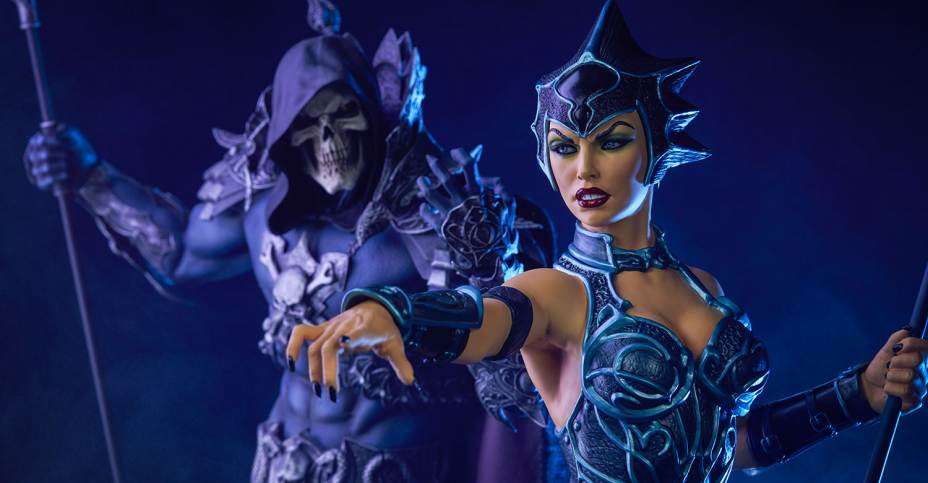 San Diego 2019 >> Sideshow Masters of the Universe Evil Lyn Classic Statue - The Toyark - News