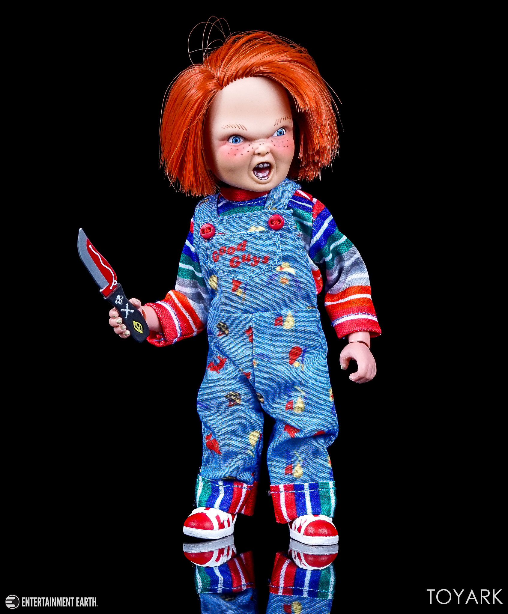 Chucky Wallpapers: NECA Retro Mego Style Child's Play Chucky Figure