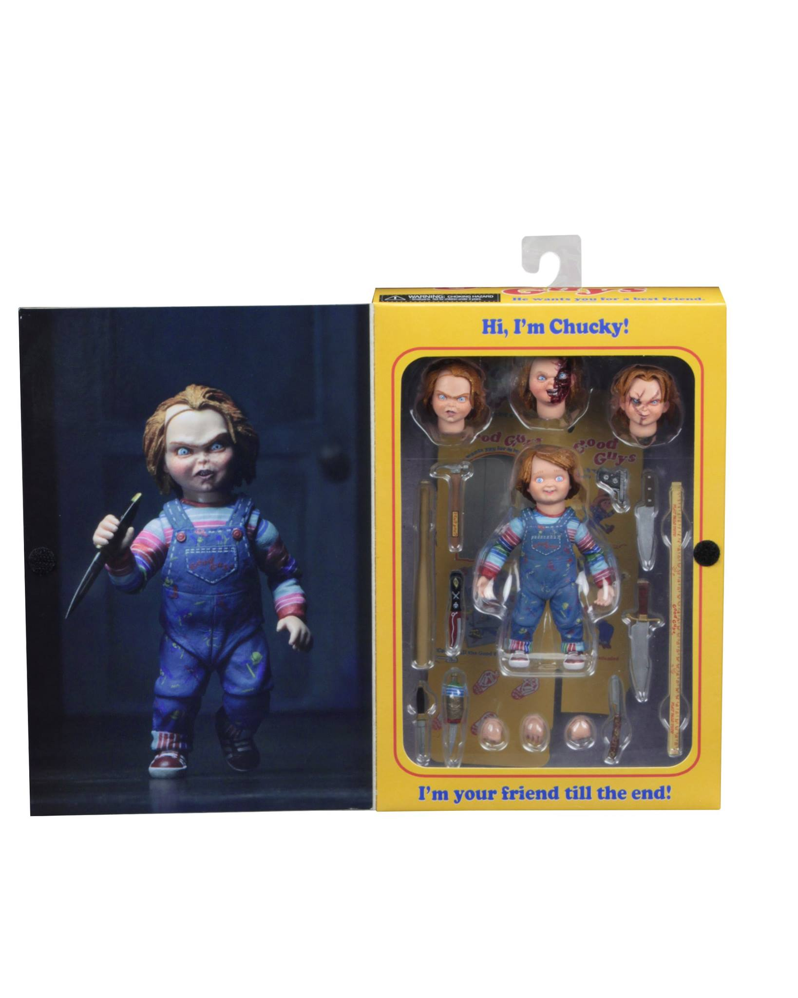 Packaging Preview For Ultimate Chucky By Neca The Toyark