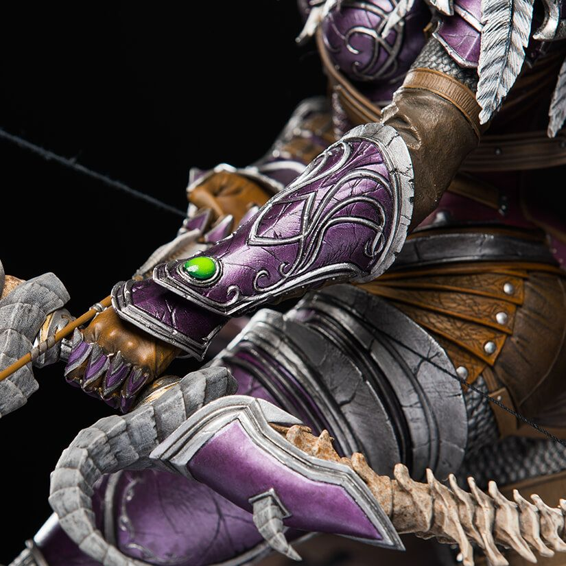 201711: World Of Warcraft Sylvanas Statue By Blizzard Collectibles