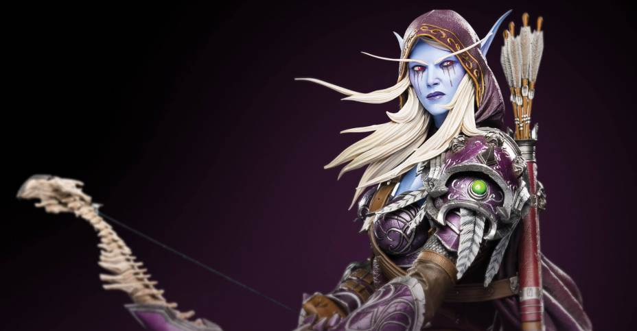 World of Warcraft Sylvanas Statue by Blizzard Collectibles