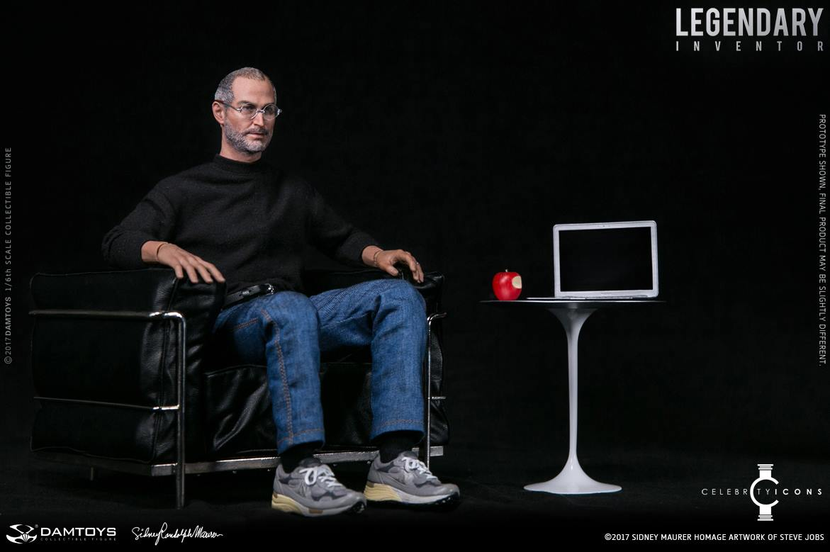 Steve Jobs Figure 1 6 Scale Figure By Damtoys The Toyark