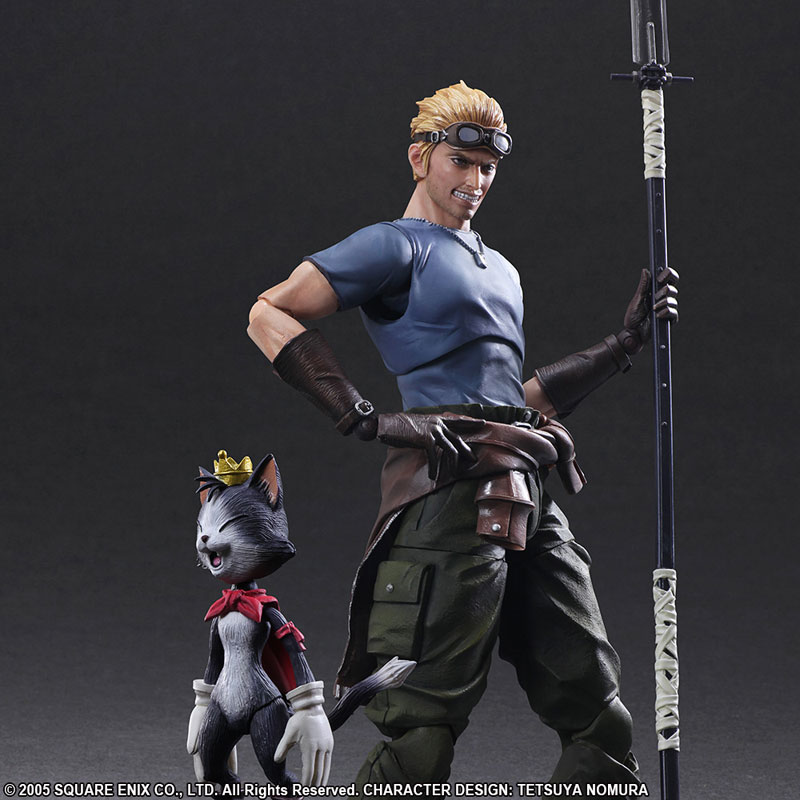 Final Fantasy VII: Advent Children Cid and Cait Sith Play Arts Kai