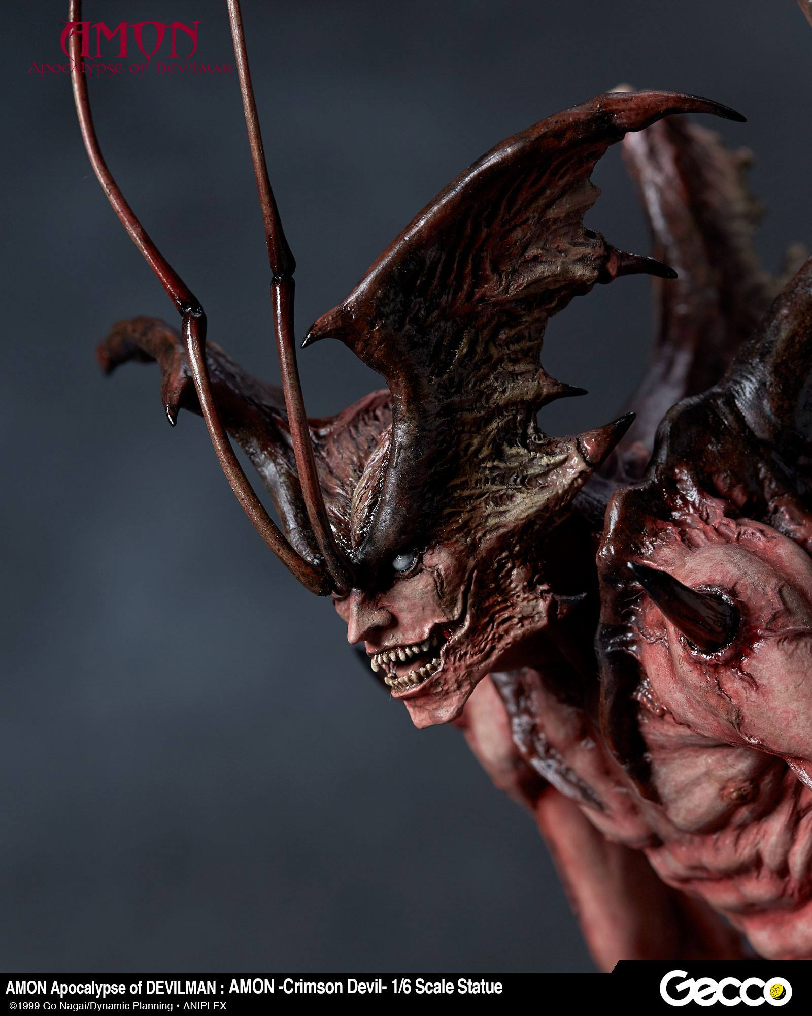 Devil: Amon: Apocalypse Of Devilman Crimson Devil Statue By Gecco