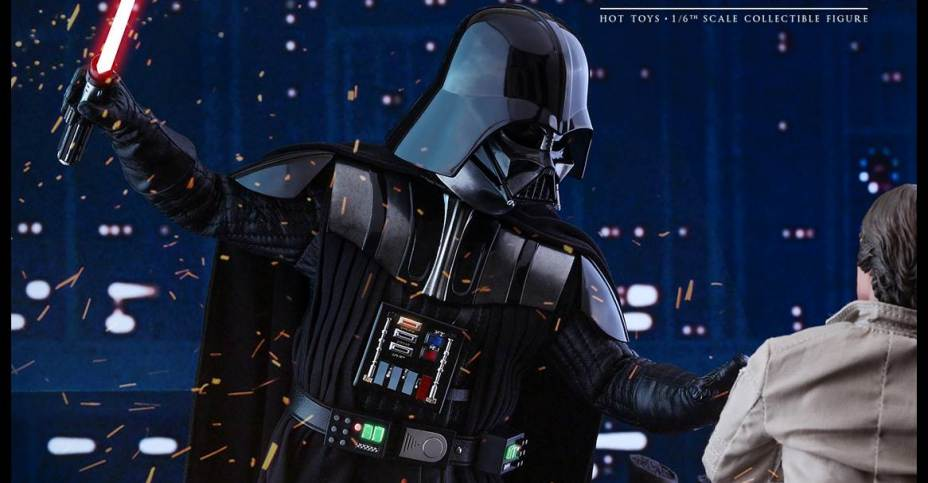 Star Wars The Empire Strikes Back Darth Vader Figure By