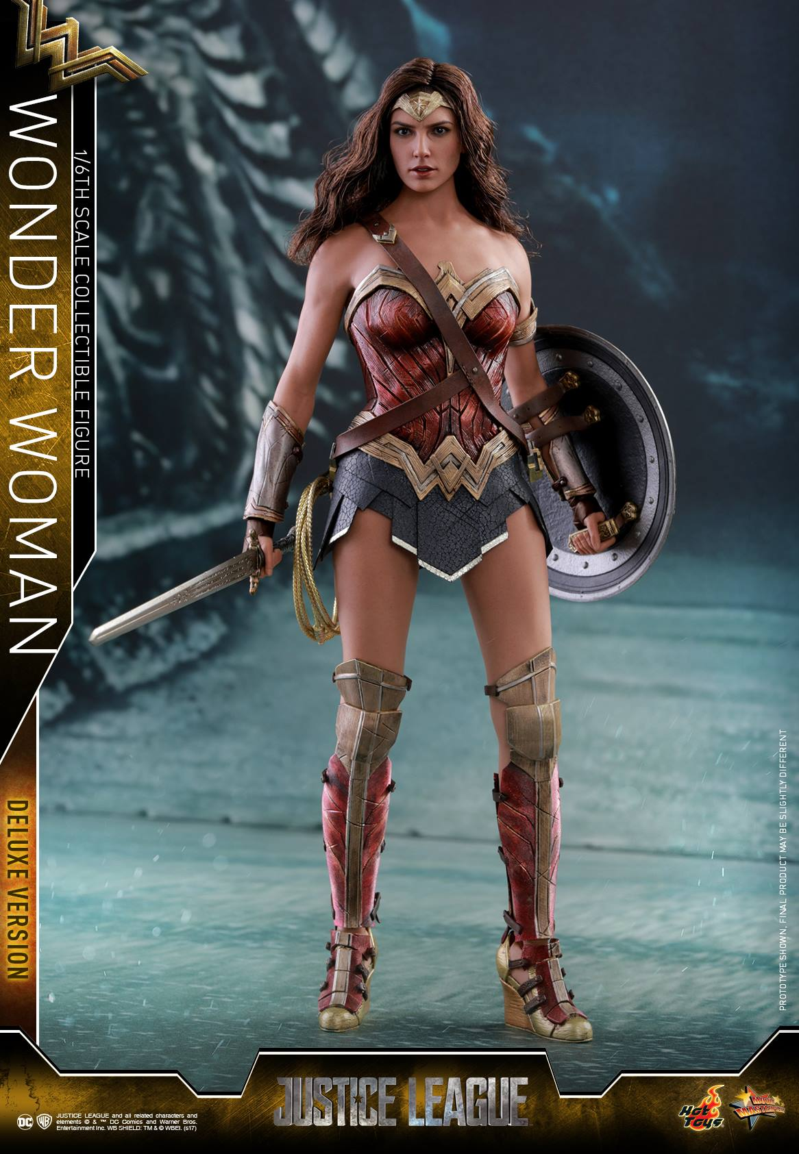 Justice League Wonder Woman 16 Scale Figures By Hot Toys -1039