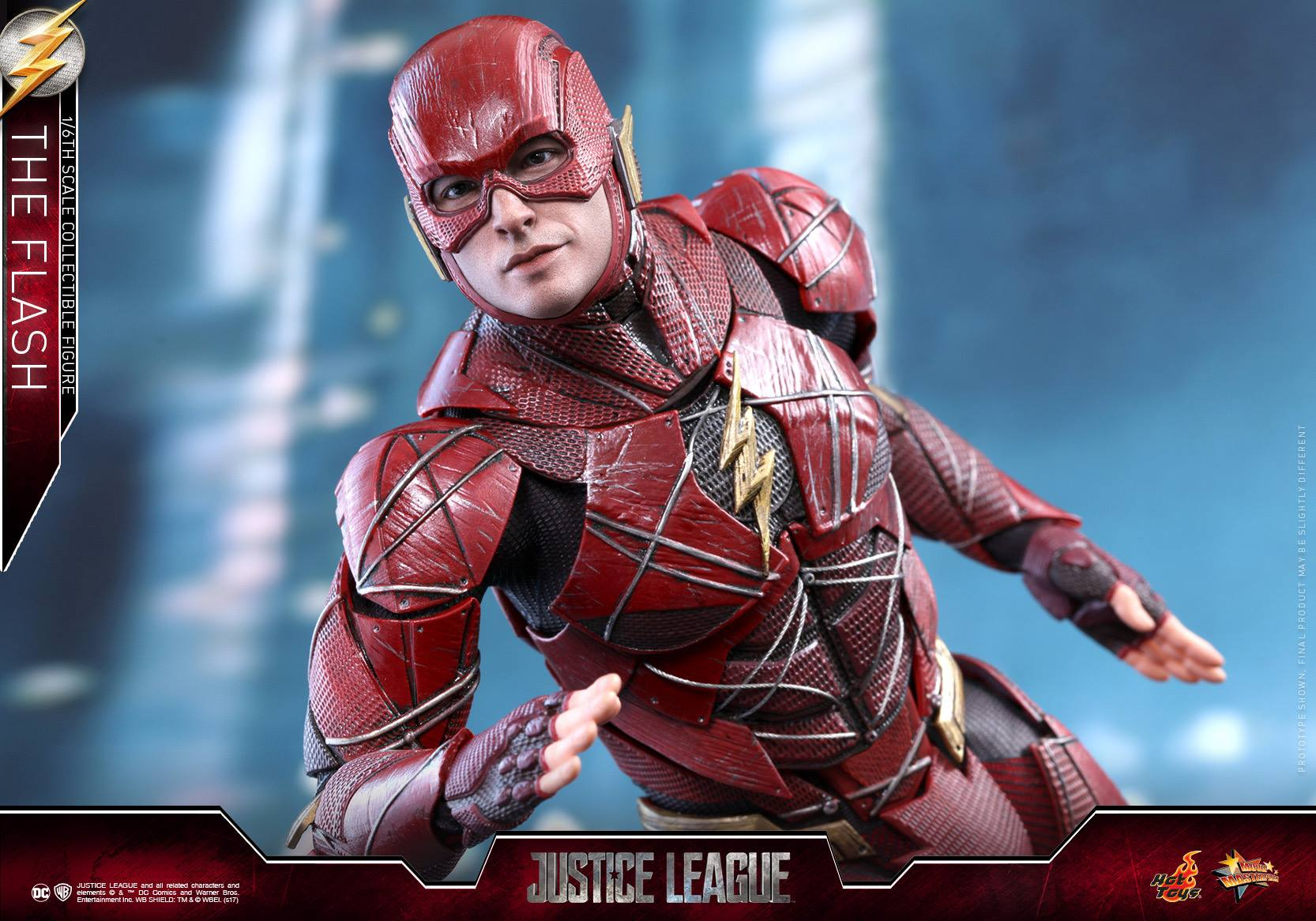 Justice League The Flash 1/6 Scale figure by Hot Toys ...