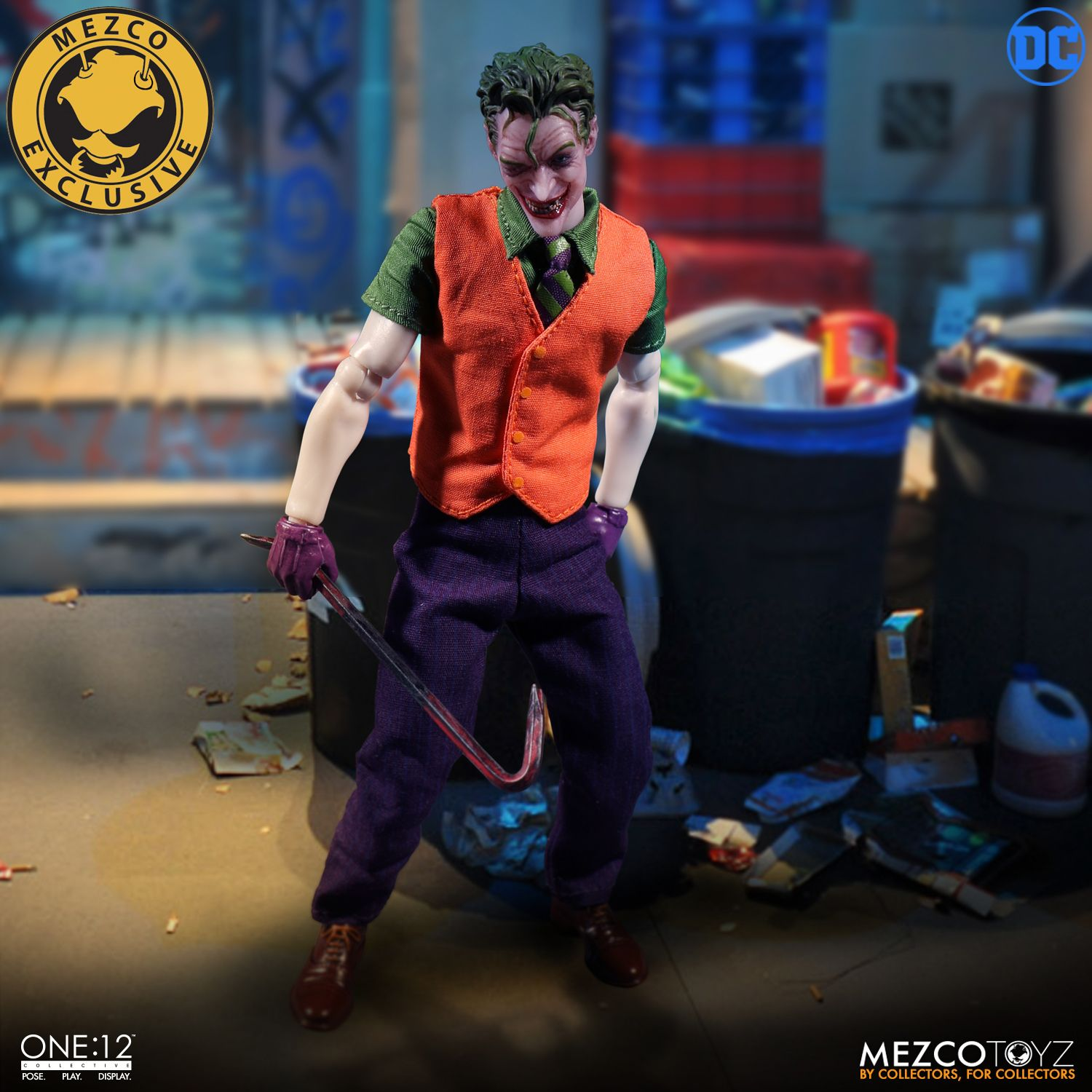 Mezco Exclusive One 12 Collective The Joker Deluxe Edition