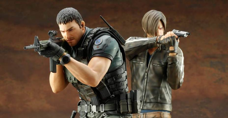 Resident Evil Vendetta Chris Redfield Artfx Statue The Toyark